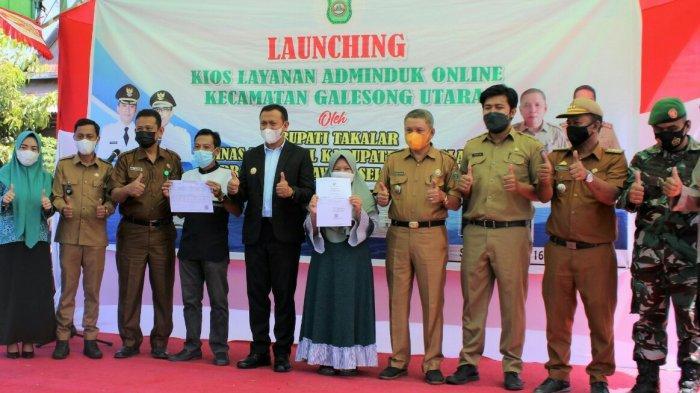 Bupati Takalar Launching Pelayanan Adminduk Online di Galesong Utara