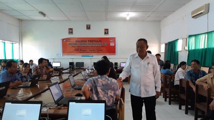 373 Calon Anggota PPK Ujian CAT, Bupati Toraja Utara Awasi