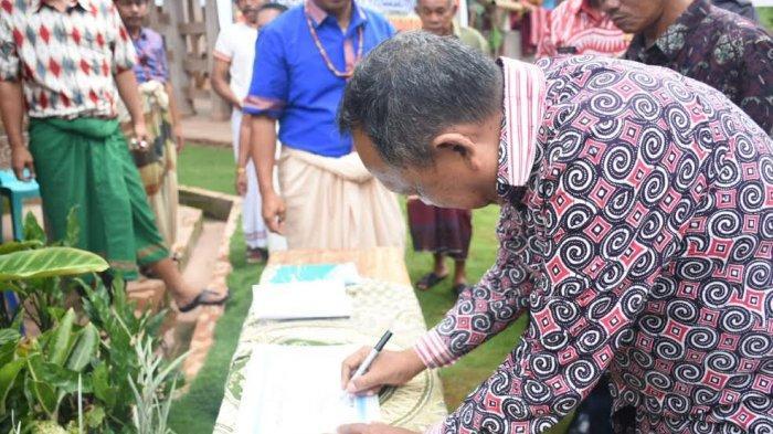 Bupati Toraja Utara Launching Desa Wisata Di Nonongan Tribun Timur