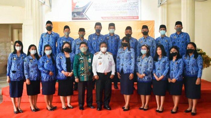 Satu Peserta Tidak Lulus Diklat Pelatihan Dasar CPNS Toraja Utara