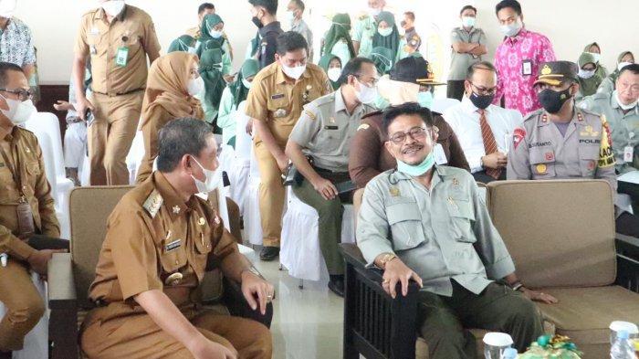 Temui Menteri Pertanian di Gowa, Bupati Wajo Niat Buka Kampus Polbangtan