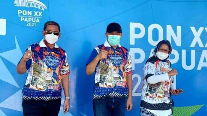 Bupati Amran Mahmud Support Langsung Atlet Wajo di PON XX Papua