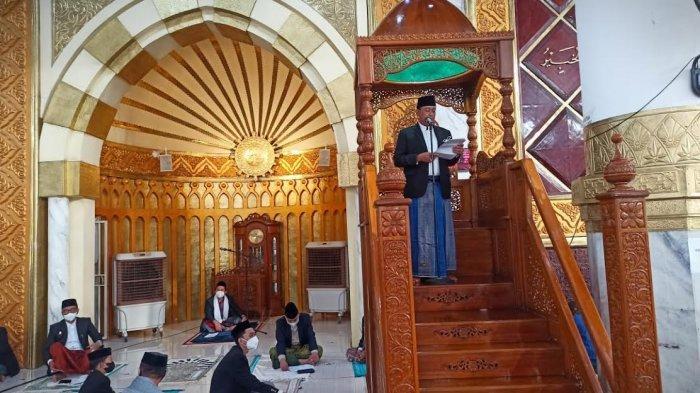 Bupati Wajo Khatib Salat Iduladha di Masjid Agung Ummul Qura Sengkang