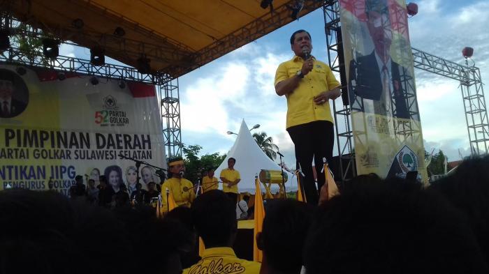 Nurdin Halid: Saya Penyelamat Partai Golkar