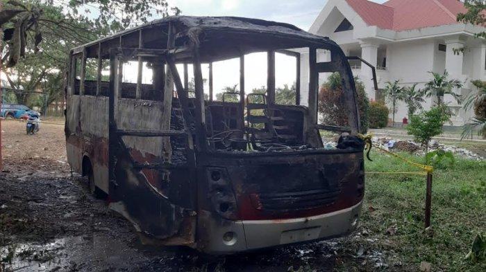 Bakar Bus Milik Pemkab, Bocah 12 di Pasangkayu Harus Berurusan Polisi