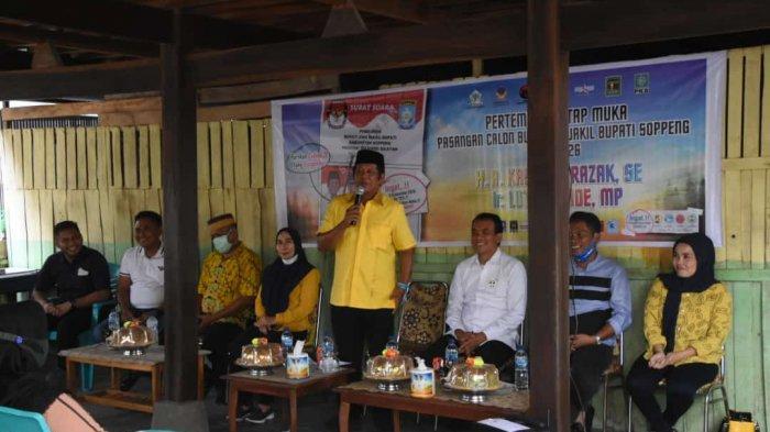 Kampanye di Marioriawa, Kaswadi Razak Sampaikan Capaiannya Memimpin Soppeng