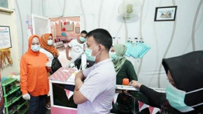 Anir Sambangi Puskesmas Jagong Pangkep, Sapa Pasien dan Tenaga Medis