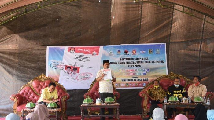 Jelang Hari Pencoblosan, Akar-LHD Kian Gencar Kampanye, Kali Ini Sama-sama ke Kecamatan Ganra