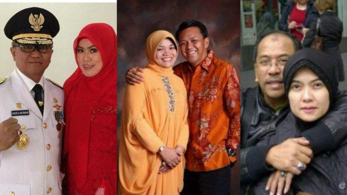 Jarang Terungkap! Ini Kelakuan Agus AN, Prof Nurdin, Ilham, Saat Muda. Istri Mereka Juga Akrab Lho
