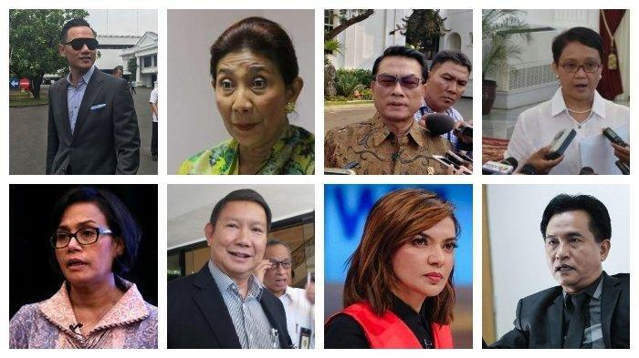 Live Streaming Pelantikan Presiden 2019 Jokowi - Maruf Amin, Daftar Calon Menteri Viral di WhatsApp
