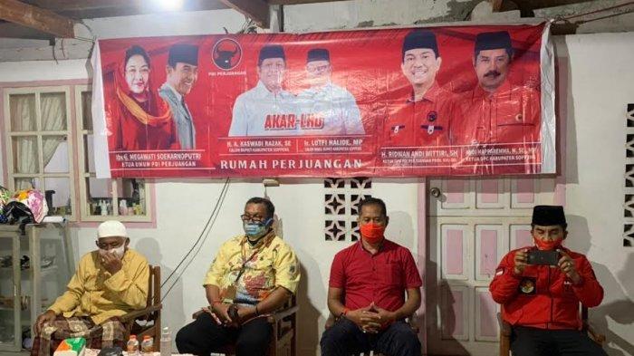 Lutfi Halide Temui Masyarakat di Sewo, Ketua DPC PDIP: Seluruh Kader Harus Solid!