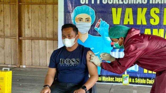 Hanya 27 Pelayan Publik di Rampi Lutra Disuntik Vaksin
