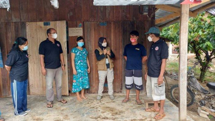 8 Warga Terpapar Covid-19, Camat Sabbang Selatan Lutra Sibuk Sosialisasi Protokol Kesehatan