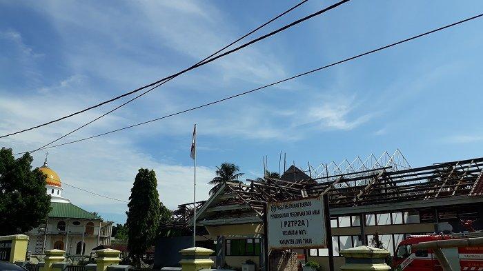 Proyek Molor, Konsultan Pengawas Kantor Camat Wotu Luwu Timur Singgung Festival Keraton Nusantara