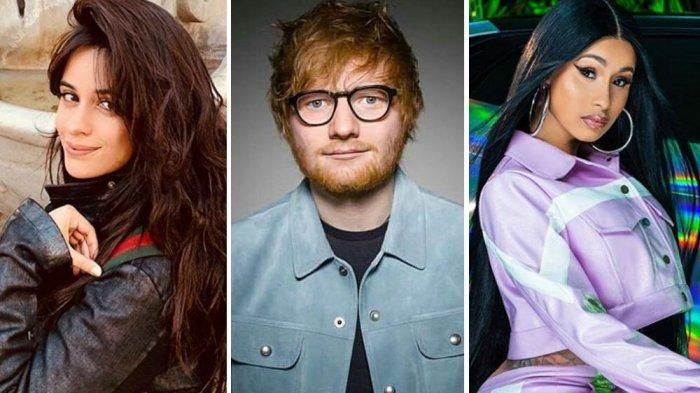 Ini Lirik dan Terjemahan Lagu Terbaru Ed Sheeran South of the Border, Feat Camila Cabello & Cardi B