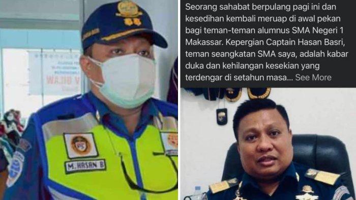 Kabar Duka, Pejabat Otoritas Pelabuhan Makassar Captain Hasan Basri Meninggal Dunia