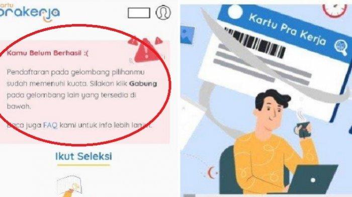 CARA Cek Lolos Kartu Prakerja Gelombang 14, Hasil Seleksi Diumumkan di www.prakerja.go.id dan SMS