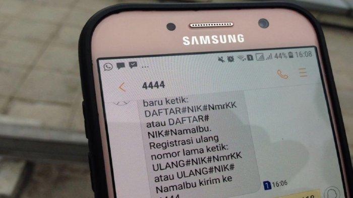 Inilah Cara Registrasi Kartu Telkomsel Indosat Ooredoo Tri Xl Axis Telat Diblokir Mulai 1 Mei Halaman All Tribun Timur