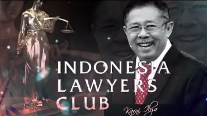 Seru! Inilah Narasumber ILC TV One Kesaksian Ali Ngabalin Detik-detik Menteri Jokowi Diangkut KPK