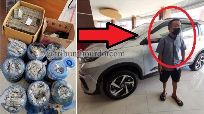 Cerita Warga Makassar Bawa 9 Galon Koin dan Dua Kardus Uang Kertas Rp 2 Ribu buat Beli Toyota Rush