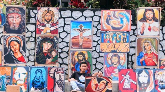 Bantu Pembangunan Gereja, Pemuda Toraja Ini Bakal Lelang 40 Lukisan