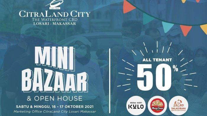 Mini Bazaar CitraLand City Losari Makassar Tawarkan Diskon 50% hingga Servis Sepeda Gratis