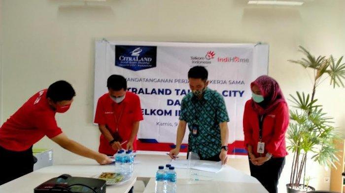 CitraLand Tallasa City Kerjasama Bareng Telkom Indihome