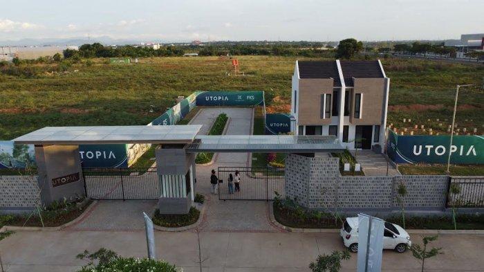 Foto Drone; Rumah dan Lahan di Cluster Utopia FKS Land Tallasa City Makassar - contoh-rumah-dan-lahan-cluster-utopia-by-fks-land-tallasa-city-makassar-3.jpg