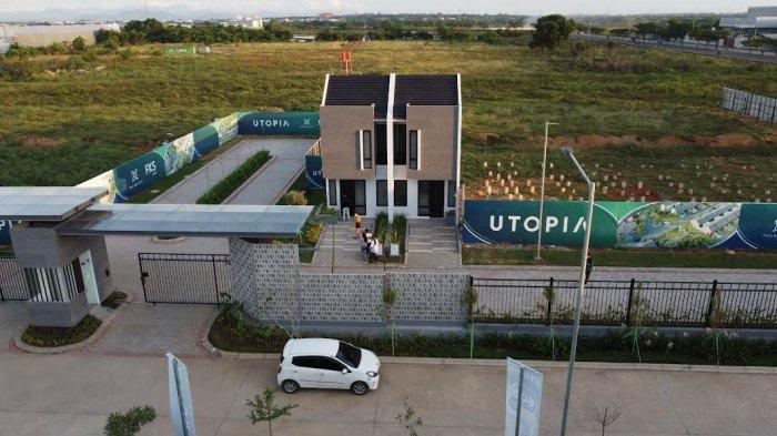 Foto Drone; Rumah dan Lahan di Cluster Utopia FKS Land Tallasa City Makassar - contoh-rumah-dan-lahan-cluster-utopia-by-fks-land-tallasa-city-makassar-4.jpg