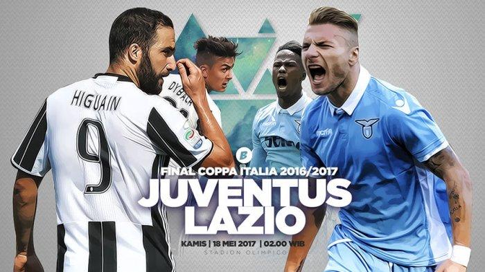 Final Coppa Lawan Lazio, Juve Ambisi Treble Winners
