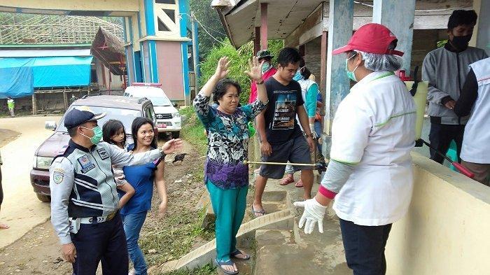 Tim GTPP Covid-19 Mamasa Screening 900 Lebih Penumpang