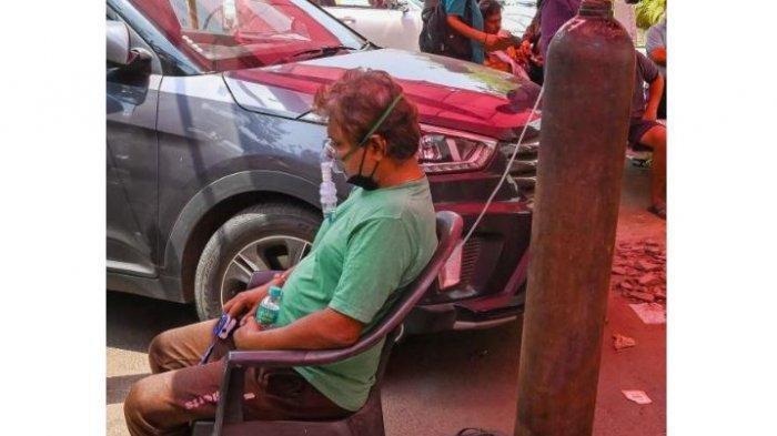 Warga Lebih Percaya Dukun Penyebab Covid-19 India Menggila, Nanti ke RS Setelah Akut dan Sulit Nafas