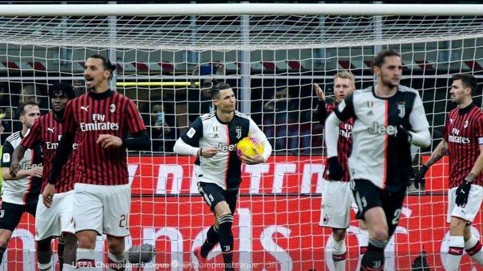Coppa Italia, Laga Juventus vs AC Milan Resmi Ditunda Akibat Virus Corona