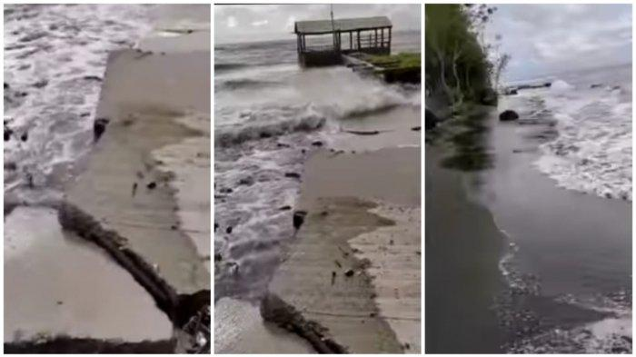 Waspada! Cuaca Buruk Landa Takalar, Pelabuhan Nelayan Rusak Disapu Ombak, Cek Prediksi Cuaca BMKG