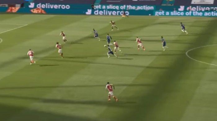 7 Kartu Kuning & 1 Kartu Merah, Arsenal Bungkam Chelsea dan Juara Piala FA Simak Video Cuplikan Gol