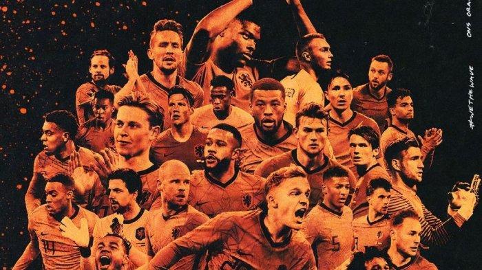 Daftar Skuad Timnas Belanda di EURO 2020, Gelandang Barcelona dan Bek Juventus Jadi Tumpuan