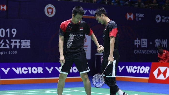 Daftar Skuat Indonesia di Turnamen Korea Open 2019, The Daddies Mundur Setelah Ahsan Alami Cedera