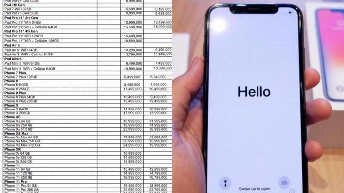 Daftar Harga HP iPhone Terbaru Juli 2020, Mulai iPhone 7 ...