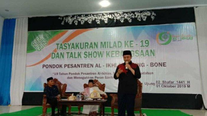 Ustad Yusuf Mansur Pembicara Milad ke-19 Ponpes Milik Prof Nasaruddin Umar di Bone