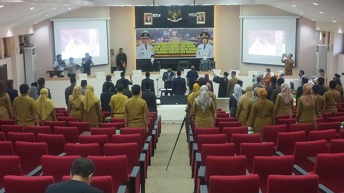 Danny Pomanto Kukuhkan Bukti Djufrie dan Sittiara Kinang sebagai Pejabat Definitif