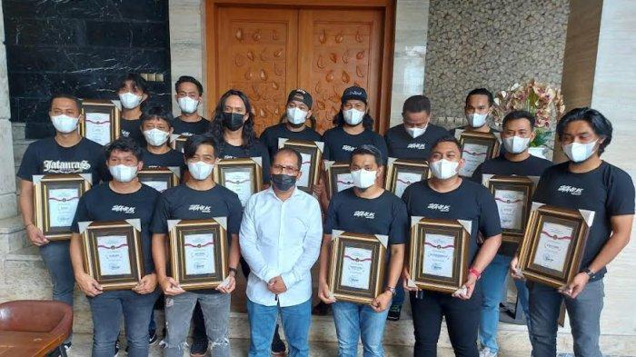 Ungkap Kasus Pencurian di Balaikota, 15 Personel Jatanras Polrestabes Diganjar Penghargaan