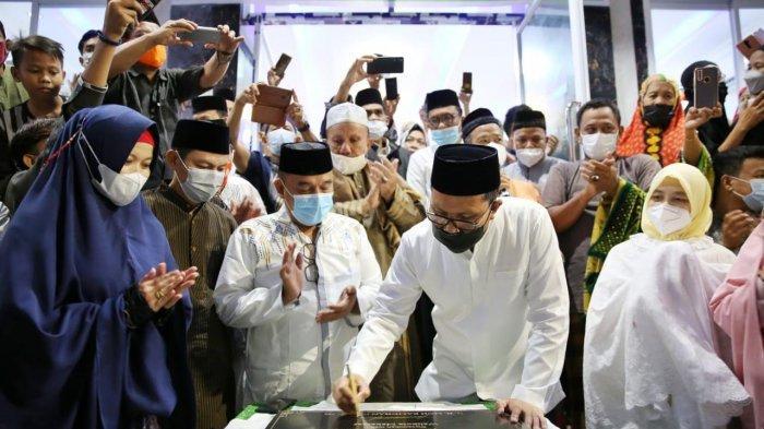 Walikota Danny Pomanto Resmikan Lantai Satu Masjid Al Harun AR Rasyid