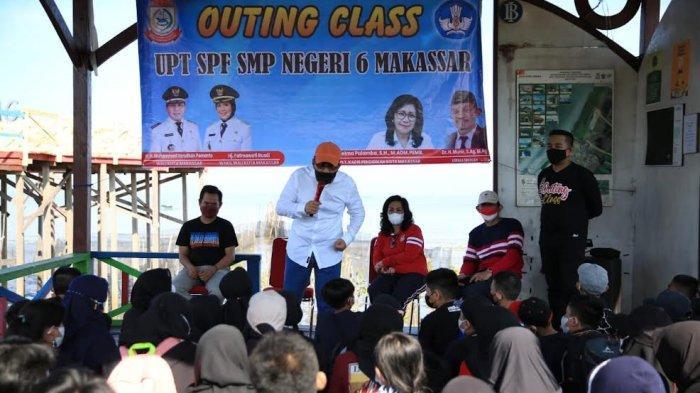 Siswa SMPN 6 Makassar Belajar Lingkungan Hidup Bareng Danny Pomanto