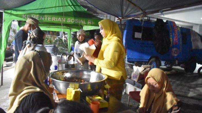 Pengungsi Gempa Sulbar Berkurang, Dinsos Kurang Produksi Nasi Bungkus di Dapur Umum