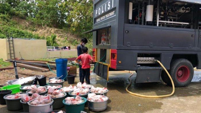 Dapur Umum Polda Sulbar Tetap Beroperasi