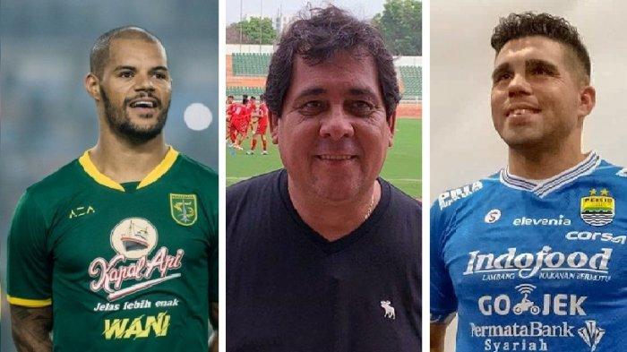 Liga 1 2020 Persebaya Tak Butuh David da Silva? Misi Fabiano Beltrame, Arema FC Gaet Carlos Oliveira