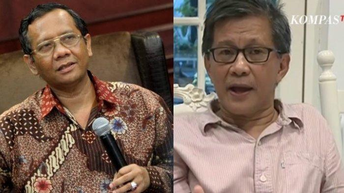 Permintaan Mahfud MD Agar Polemik Rocky Gerung Segera Diakhiri & Prediksi Kasusnya Tak Akan Lanjut