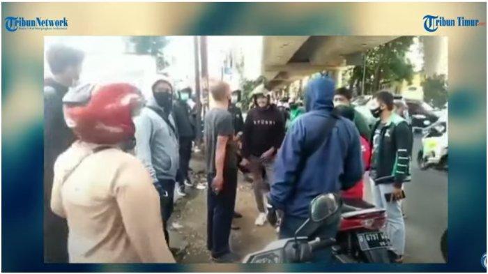 Viral Debt Collector Ingin Tarik Paksa Motor Ojol Maxim di Jalan, Gagal Karena Dihalangi Penumpang