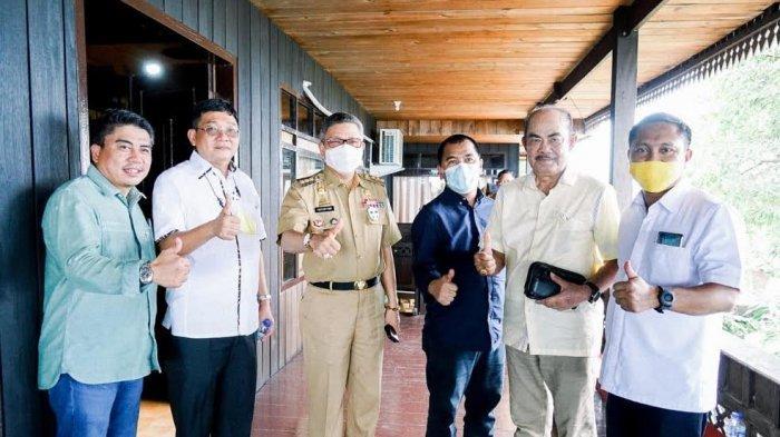 Menang di Pilkada, Dedy Palimbong dan Budiman Temui Ketua Golkar Sulsel di Parepare
