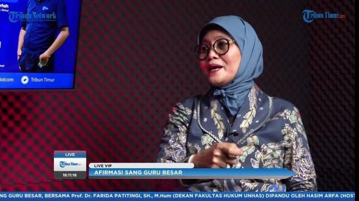 Dulu Prof Farida Patittingi Bercita-cita Jadi Insinyur, Kini Dekan Fakultas Hukum Unhas